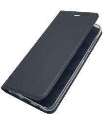 Nokia 5.1 Plus Hoesje met Kaarthouder Zwart