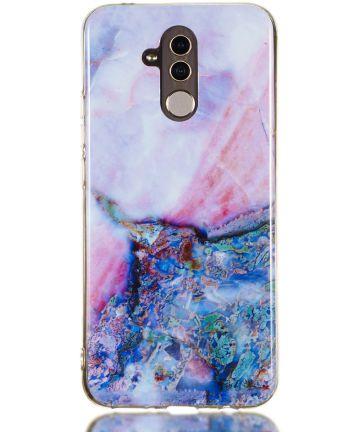 Huawei Mate 20 Lite TPU Hoesje Marmer Print