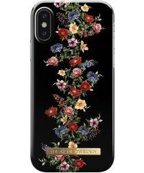 iDeal of Sweden iPhone XS / X Fashion Hoesje Dark Floral
