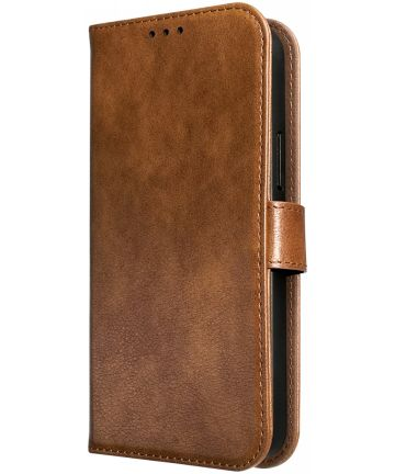 Rosso Element Samsung Galaxy S10 Hoesje Book Cover Bruin Hoesjes