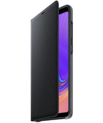Samsung Galaxy A9 (2018) Wallet Cover Zwart Hoesjes