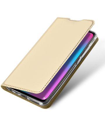 Dux Ducis Book Case Huawei P Smart (2019) Hoesje Goud Hoesjes