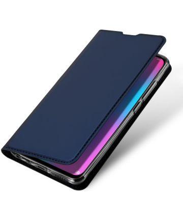 Dux Ducis Book Case Huawei P Smart (2019) Hoesje Blauw Hoesjes