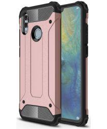 Huawei P Smart (2019) Hybride Hoesje Roze Goud