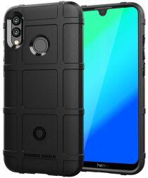 Huawei P Smart (2019) Rugged Armor Hoesje Zwart