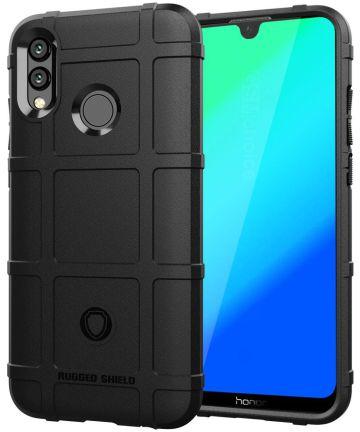 Huawei P Smart (2019) Rugged Armor Hoesje Zwart Hoesjes