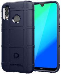 Huawei P Smart (2019) Rugged Armor Hoesje Donker Blauw