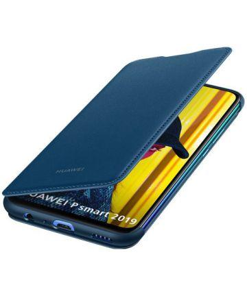 Huawei P Smart (2019) Originele Flip Cover Blauw Hoesjes