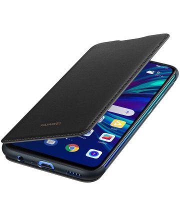 Huawei P Smart (2019) Originele Flip Cover Zwart Hoesjes