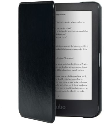 Kobo Clara HD Hoesje Book Case Zwart Hoesjes