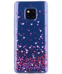 Huawei Mate 20 Pro TPU Hoesje met Print Hartjes