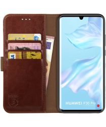 Rosso Element Huawei P30 Pro Hoesje Book Cover Bruin