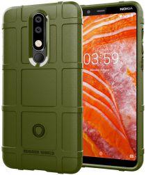 Nokia 3.1 Plus Rugged Armor Hoesje Groen