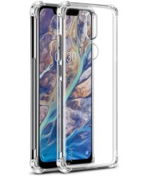 Nokia 8.1 TPU Hoesje met Screen Protector Transparant