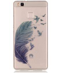 Huawei P9 Lite TPU Hoesje met Veer Print