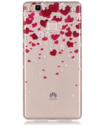 Huawei P9 Lite TPU Hoesje met Hart Print Hoesjes