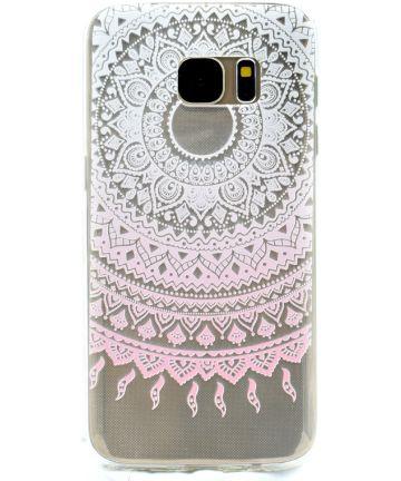 Samsung Galaxy S7 TPU Hoesje met Mandala Print Hoesjes