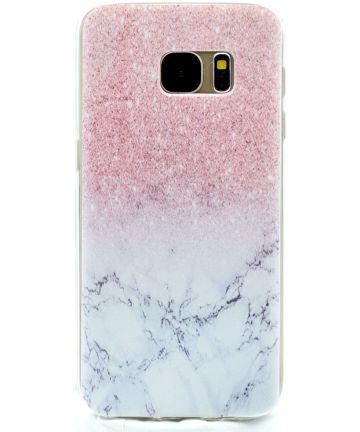 Samsung Galaxy S7 TPU Hoesje met Marmer Print