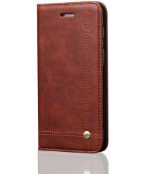 OnePlus 6 Retro Style Wallet Flip Case Bruin