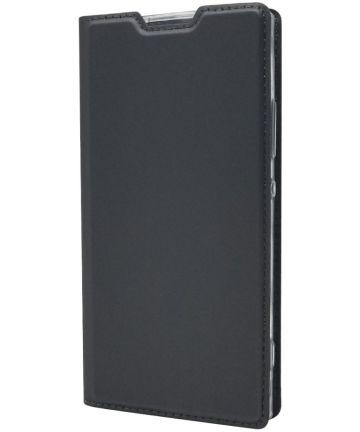 Sony Xperia XA2 Luxe Portemonnee Hoesje Zwart