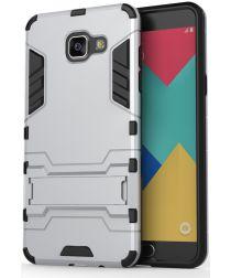 Samsung Galaxy A5 (2016) Hybride Hoesje Zilver