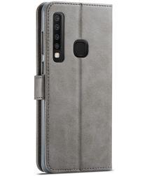 Samsung Galaxy A9 (2018) Portemonnee Bookcase Hoesje Grijs