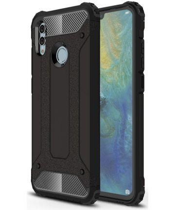 Huawei P Smart (2019) Hybride Hoesje Zwart Hoesjes