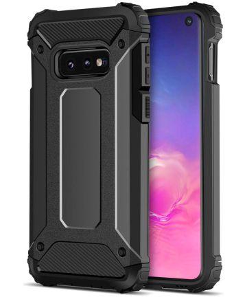 Samsung Galaxy S10E Hoesje Shock Proof Hybride Backcover Hoesjes