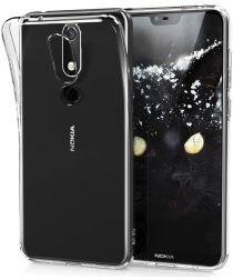 Nokia 5.1 Plus Transparant TPU Hoesje