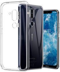 Nokia 8.1 Hoesje Dun TPU Transparant