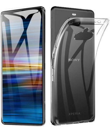 Sony Xperia 10 Hoesje Dun TPU Transparant Hoesjes