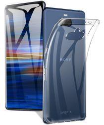 Sony Xperia 10 Plus Hoesje Dun TPU Transparant