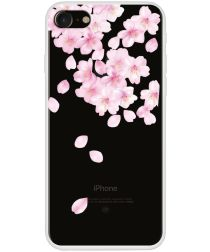 Apple iPhone 7/8 TPU Print Hoesje Falling Flowers