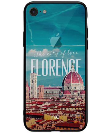 Apple iPhone 7/8 NXE Hyrbide Combo Backcase The City of Love Hoesjes