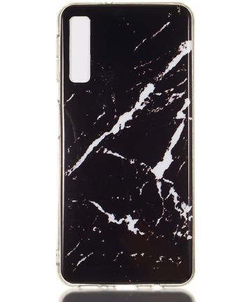 Samsung Galaxy A7 (2018) TPU Print Hoesje Marmer Print Hoesjes