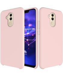 Huawei Mate 20 Lite Siliconen Hoesje Roze