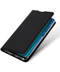 Dux Ducis Premium Book Case Huawei Y9 (2019) Hoesje Zwart