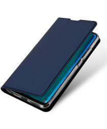 Dux Ducis Premium Book Case Huawei Y9 (2019) Hoesje Blauw