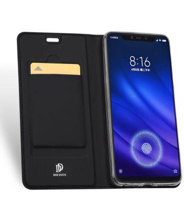 Dux Ducis Book Case Xiaomi Mi 8 Pro Hoesje Zwart