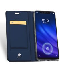 Dux Ducis Book Case Xiaomi Mi 8 Pro Hoesje Blauw