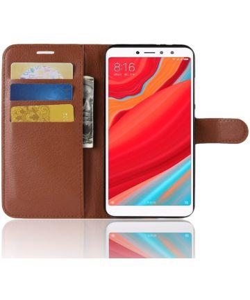 Xiaomi Redmi S2 Portemonnee Hoesje Bruin