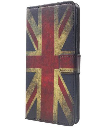 Xiaomi PocoPhone F1 Portemonnee Hoesje Print Union Jack Hoesjes