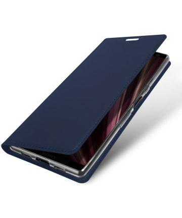 Dux Ducis Book Case Sony Xperia 10 Hoesje Blauw Hoesjes