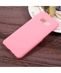 Samsung Galaxy S8 Matte Back Cover Roze