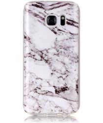Samsung Galaxy S7 TPU Back Cover met Marmer Print