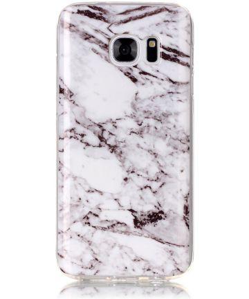 Samsung Galaxy S7 TPU Back Cover met Marmer Print Hoesjes