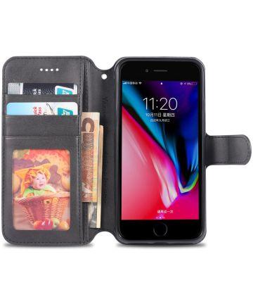 Apple iPhone SE (2020) Hoesje Portemonnee Zwart Hoesjes