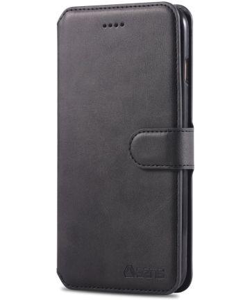 Apple iPhone 6S Portemonnee Hoesje Zwart