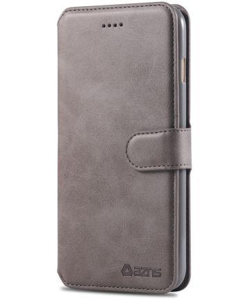 Apple iPhone 6S Portemonnee Hoesje Grijs