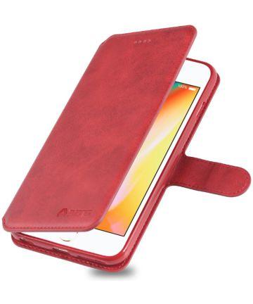 Apple iPhone 6S Portemonnee Hoesje Rood Hoesjes